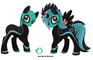 Doubletailed MLP Adopt - Adopted by Feralx1