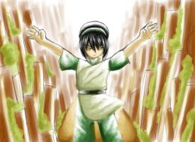 Toph - The Earthbender by renealexa-diary
