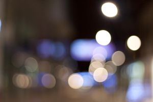 Town Centre Bokeh by carlsilver