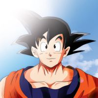 DragonBall Z Goku by Mr123GOKU123