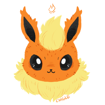 flareon by Chigle