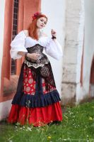 The Gipsy Maiden III by MADmoiselleMeli
