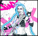 Get Jinxed by HaitiKage