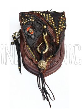 Leather Pouch by BrendaWilson01