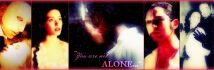 You are not alone...! by CeeJayFrost