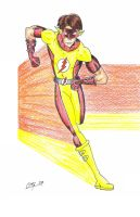 Bart Allen - Flash hand color by MShades