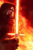 Kylo Ren - The Force Awakens by EddieHolly