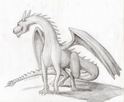 Dragon (shading practice) by LothrilZul