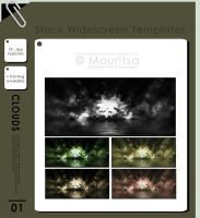Template Pack - Clouds by MouritsaDA-Stock