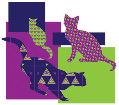 Triforce Cats by LateRose225