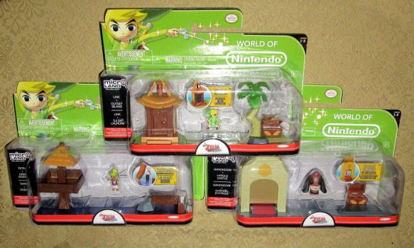 Legend of Zelda Microland Toys by avaneshop