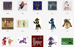 Characters for Sale (TONS OF ART) by fainfol