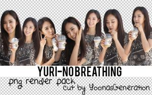 Yuri - No Breathing  PNG Render Pack by YoonAsGeneration