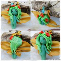 forest fairy necklace by oOMetalbrideOo