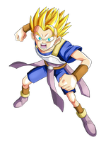 CABBA Super Saiyan - Dragon Ball Super DBS SSJ by Goku-Kakarot