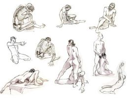 life drawing by ZurdoM