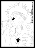 Naruto Chapter 5 Lineart by Hand-Banana