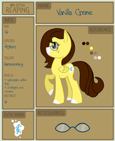 Reaping App: Vanilla Creme by acornheart465