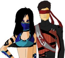 Request - Joanna and Kenshi by MarkiPewdieMash