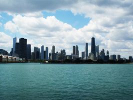 Chicago Skyline by CobainLives