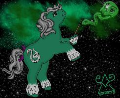My Little Pony-Slytherin-orb.. by HogwartsArt