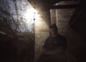 Pinhole-box  Selfie! by Phostructor