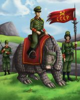 different kind of soviet army by sushy00