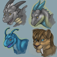 Busts by Tojo-The-Thief