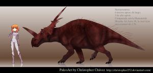 Styracosaurus by Christopher252