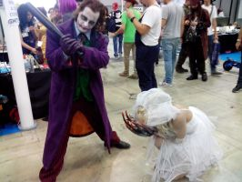 Don't startle the bride..! by Kalix5
