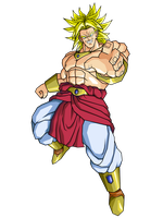 USSJ Broly by brolyeuphyfusion9500