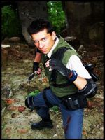 Resident Evil Chris Redfield 4 by garg20