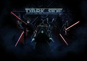 Star wars tribute: DARK SIDE by DrManhattan-VA