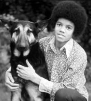 Michael and his dog by countrygirl16mj