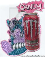 Candy Drink Badge by ZinStone