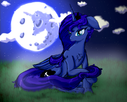 Lunas Night - Luna Day Picture by Charrez