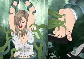 Emily tentacle torture (Part1) by MagicTickler