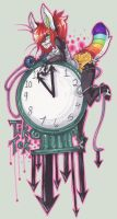 On.The.Clock::..+ by Uriko44
