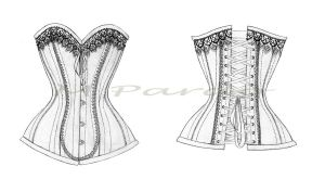 Victorian corsetry by arcticorset