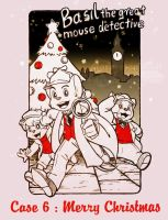 TGMD - The Great Mouse Detective : Merry Christmas by doraemonbasil