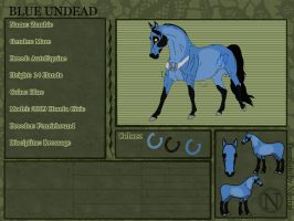 Blue Undead Reference by fenrirhound