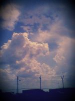 Clouds by lanamechanic