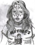 Ace Frehley Portrait by NubianGoddess