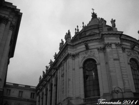 Palace of Versailles Church by terrahachi
