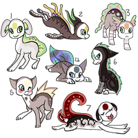 Free Finnedyr Adopts by Songoffallingfeather