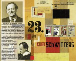 Schwitters Stamp Sheet by Ryuyujin