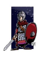 Late Roman soldier by Bas0411