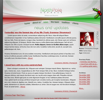 North Pole Express Website by BlakliteGraphics