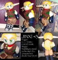 Jinx Plush: For Jaygoose by Demyrie