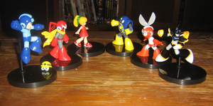 Megaman Figure Gallery 3 by ProfessorMegaman